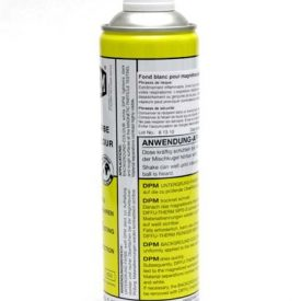 Flacon de 500 ml de spray d'arrière fond blanc