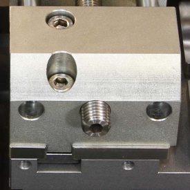Etau droit à serrage à vis hauteur 45 mm