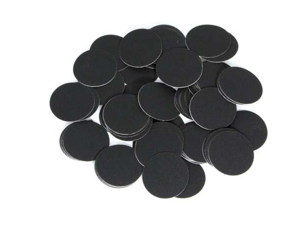 Boîte de 25 disques de papier abrasif autocollants ZR+ à fort taux d'enlèvement de matière P120 Ø 200 mm