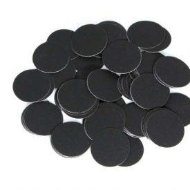 Boîte de 25 disques de papier abrasif autocollants ZR+ à fort taux d'enlèvement de matière P120 Ø 250 mm