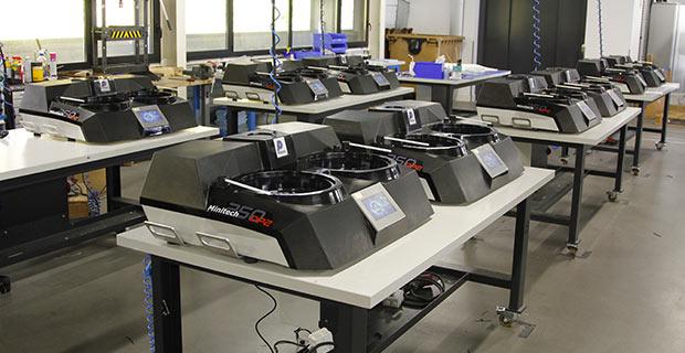 Les machines PRESI ont un savoir faire et une qualité 100% Française